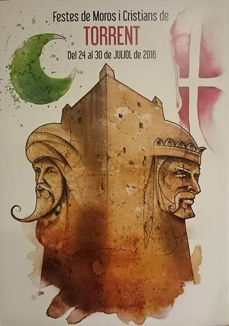 """CARTELL GUANYADOR 2016: """"GUARDIANS DE LA FESTA"""""""