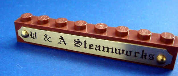 Best Steampunk Name brick ever?