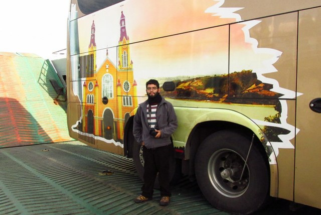 Ariel Cruz Pizarro & Queilen Bus