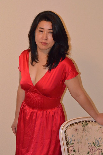 DSC0204 My Lovely Sexy WifeSusan With A Red Dress