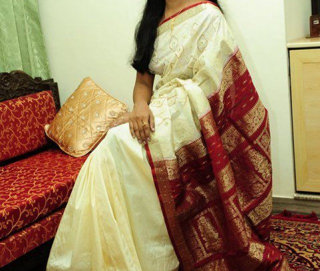South Indian Long Hair Girl In Saree By Rajravi75