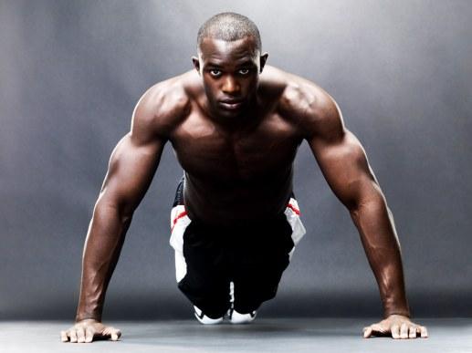 Image result for black man exercising
