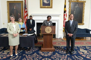 Lt. Governor Anthony G. Brown presents awards to MML essay ...