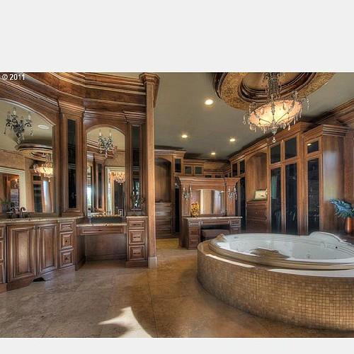 Atlanta Living Bathroom Bathtub Bath Tile Wood Wood