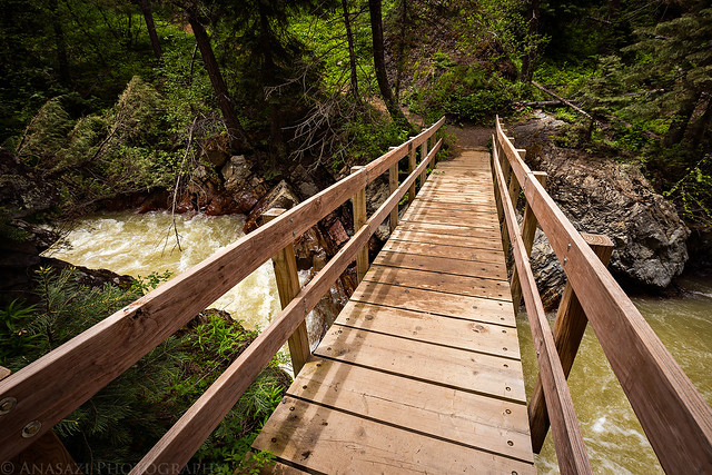 Uncompahgre River Bridge