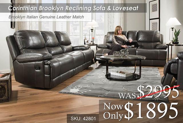 Corinthian Brooklyn Living Room Set 42801