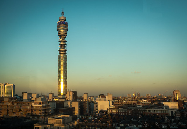 BT Tower | The view from work