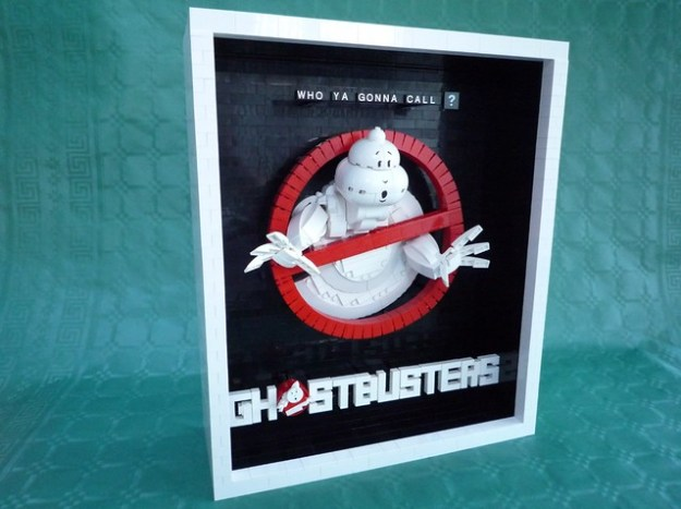 LEGO Ghostbusters Movie Poster Left View