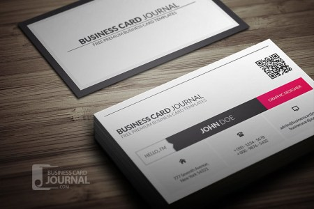 Metro Style Business Card Template With QR Code   Download           Flickr     Metro Style Business Card Template With QR Code   by Meng Loong