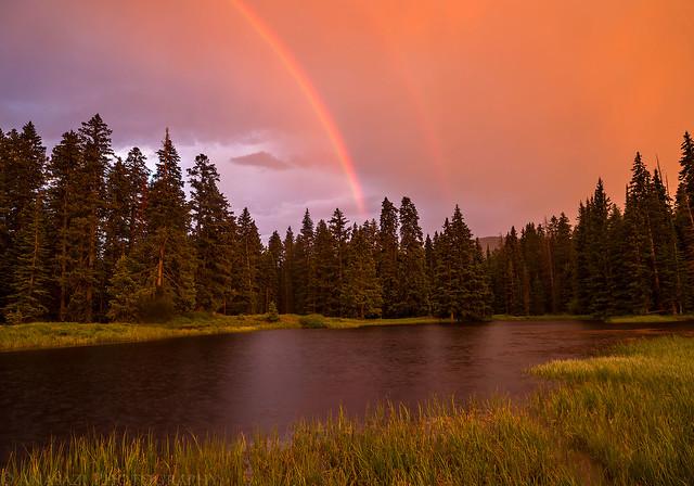 Medicine Lake Rainbow