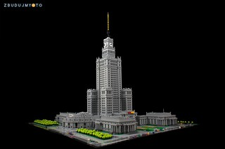 Palace of Culture and Science from Warsaw / Poland