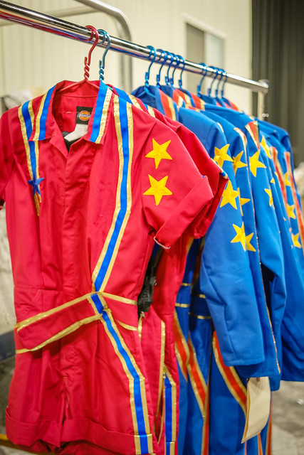 Costumes for Ringling Bros Out of This World