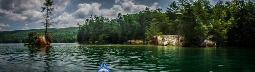 Lake Jocassee Kayaking-113