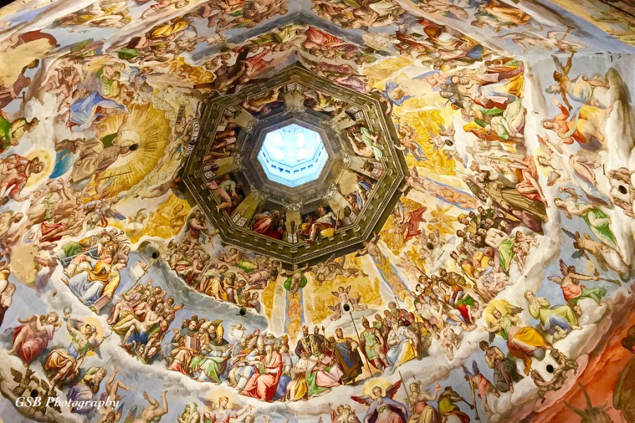 Florence Cathedral Dome Interior   The interior of the 45 me      Flickr     Florence Cathedral Dome Interior   by GSB Photography