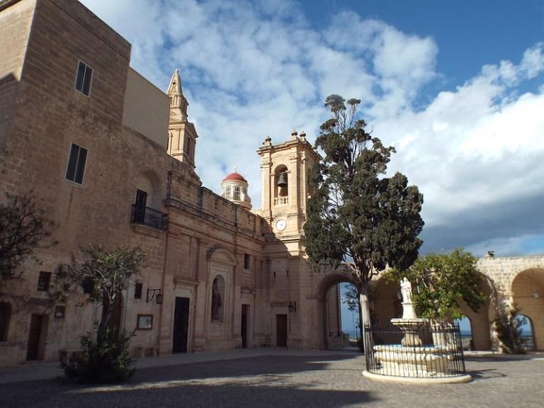 Sanctuary of Our Lady of Mellieha, Malta - the tea break project solo female travel blog