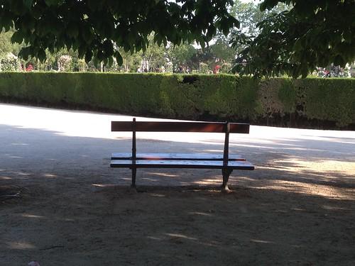 Sombra, El Retiro. Madrid