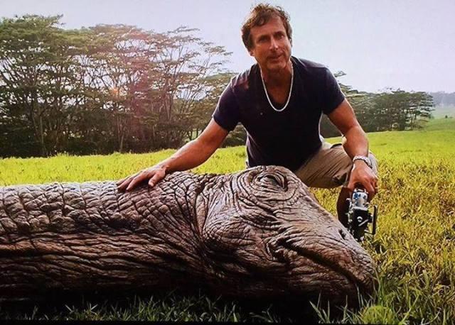 John Rosengrant e Apatosaurus