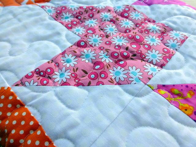 Summer Starburst Quilt (Popular Patchwork July16)