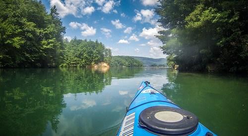 Lake Jocassee Kayaking-63