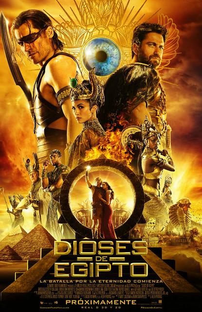 Dioses de Egipto - Estreno de cine