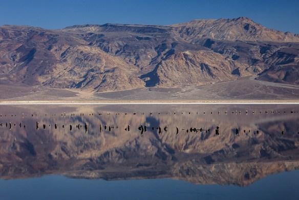 Still Water in Death Valley