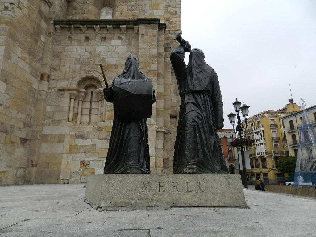 Escultura El Merlú Zamora 07
