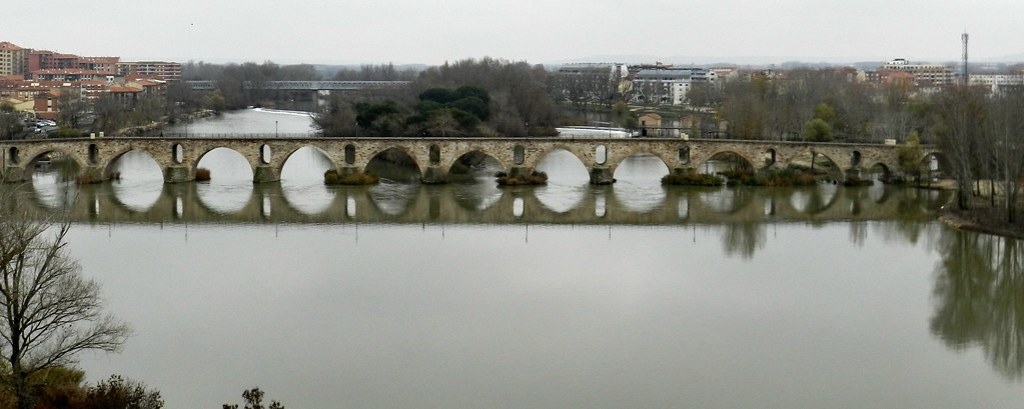 Zamora Puente de Piedra de Zamora y Rio Duero 02