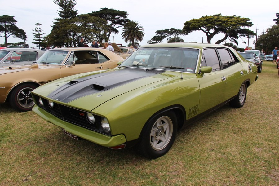 1974 ford cars » 1974 Ford XB Falcon GT Sedan   Frosted Lime  The XB Falcon w      Flickr     1974 Ford XB Falcon GT Sedan   by Sicnag