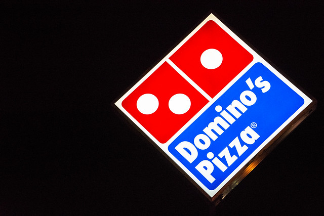 Vibrant Domino's Pizza