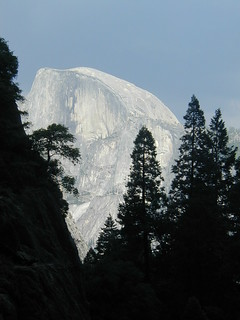 Early Digital Photo of Half Dome