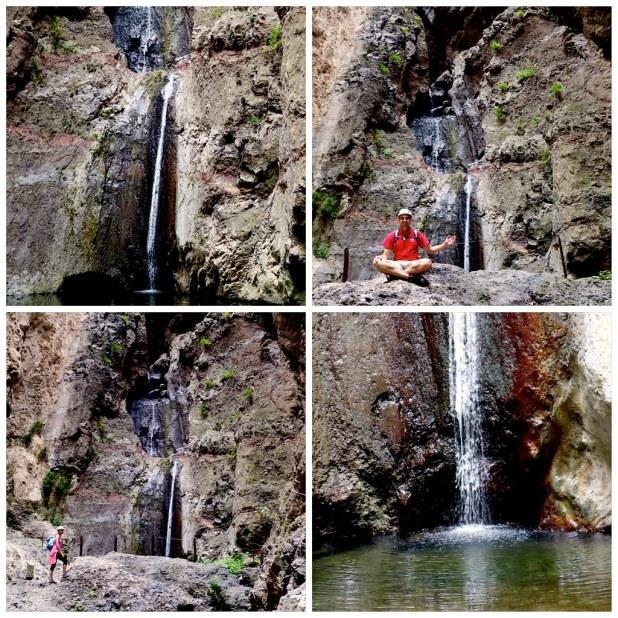 Barranco del Infierno cascada final