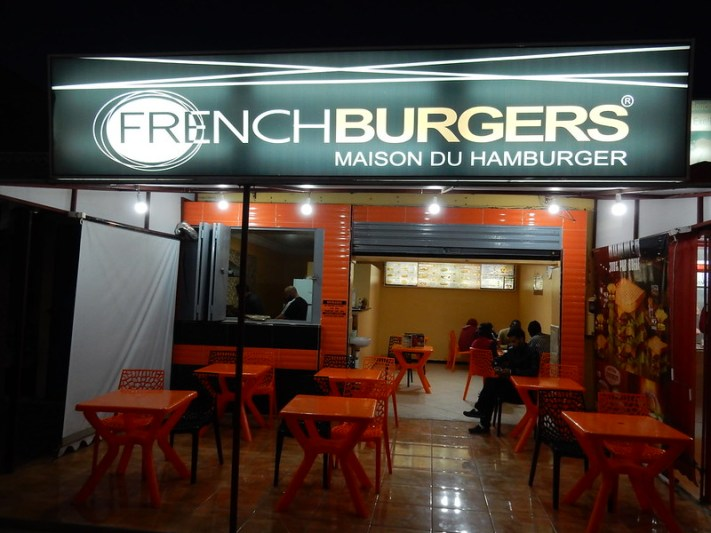 French Burger in Dakhla