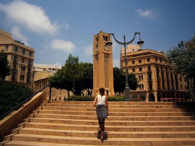 Nejmeh Clock Tower