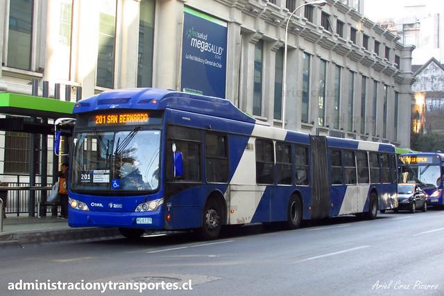 Transantiago 201 | Subus Chile | Caio Mondego LA - Volvo B9 SALF / WC2775 - 9506