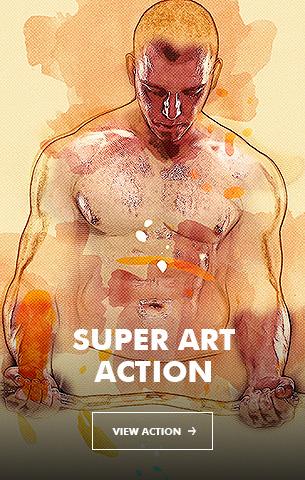 Ink Spray Photoshop Action V.1 - 18