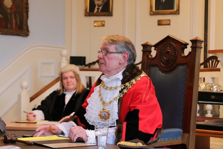 New 670th Mayor takes his seat