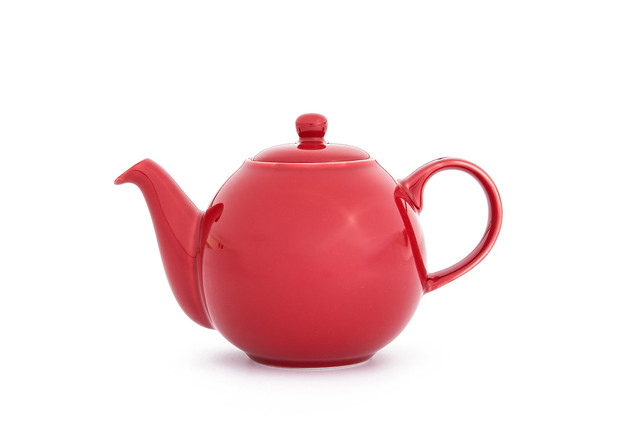 Red Tea Pot