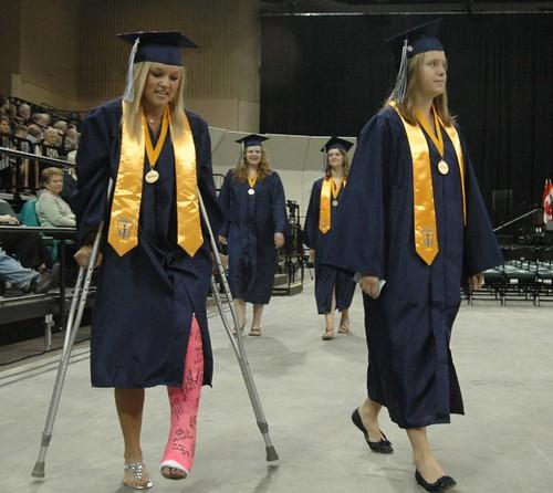 Broken Angelz Cast Crutches