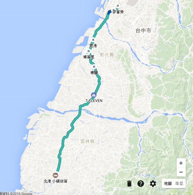第三天路線圖
