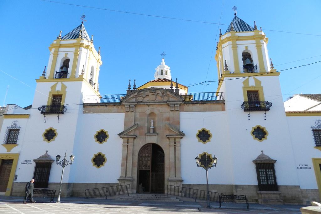 Fachada Iglesia Nuestra Señora del Socorro Ronda Malaga 01