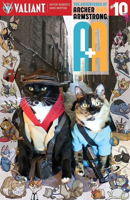 29610756112_1aa5c5ffa9_z Valiant combines cats, comics, and cosplay with VALIANT CAT COSPLAY covers