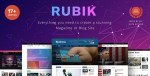 RUBIK V1.8 – A PERFECT THEME FOR BLOG MAGAZINE WEBSITE