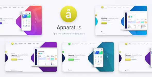 APPARATUS V1.2 – A MULTI-PURPOSE ONE-PAGE LANDING THEME