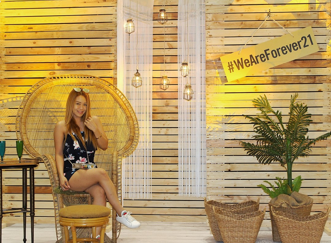 Ayesha Heart at Forever21 Summer Collection 2018 Launch