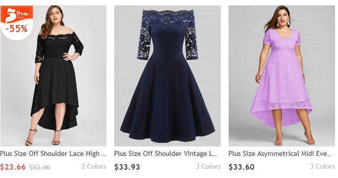 Plus size dresses women