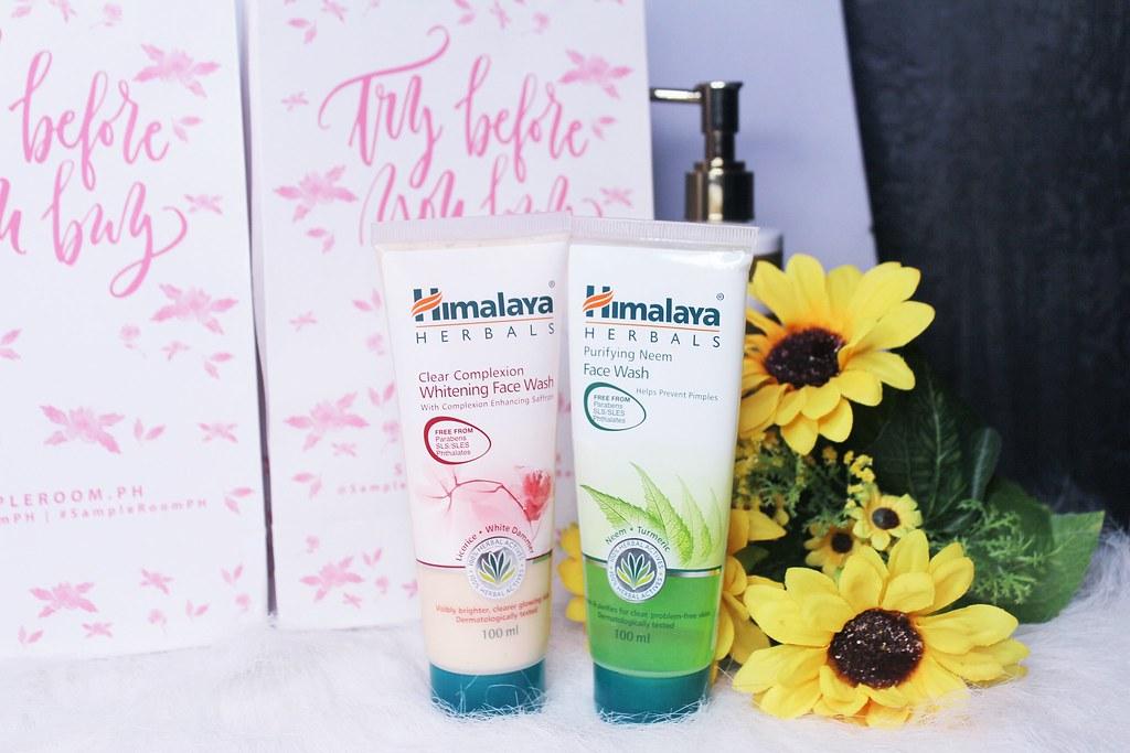 Himalaya HerbalsPurifying Neem andHimalaya Herbals Clear Complexion Whiteningface wash.