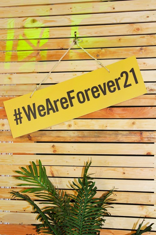 #WeAreForever21 Campaign