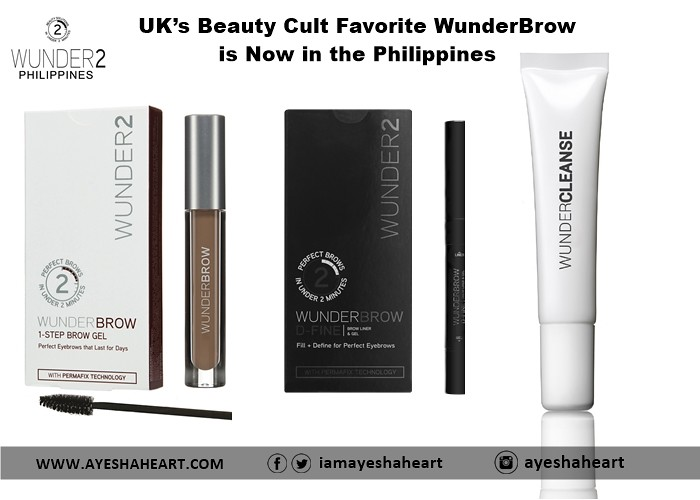UK's Beauty Cult Favorite WunderBrow is now in the PHilippines