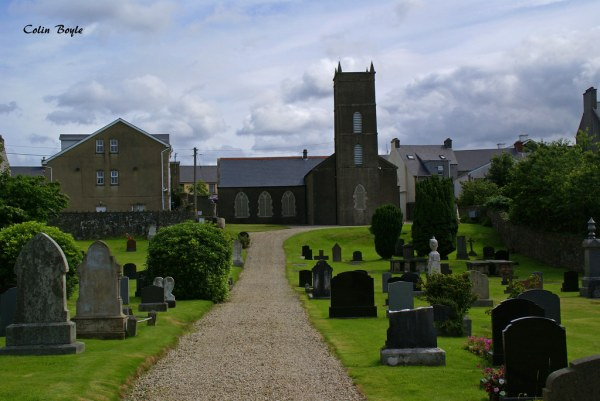 Christ Church, Fahan Lower Parish, Buncrana, County Donega ...