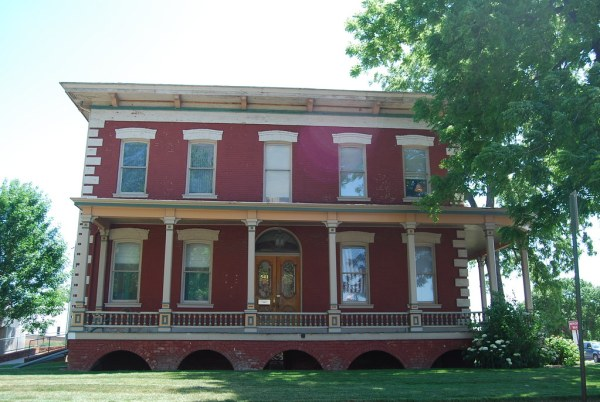 Red Brick 19th Century House, Council Bluffs, IA ...